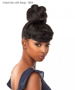 Sensationnel  Synthetic Hair  Instant Bun with Bangs - BRIA