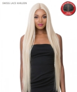 It's a wig Synthetic Lace Front Wig - SWISS LACE KARLEEN