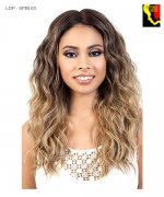 Motown Tress Synthetic Spin Part Lace Front Wig - LDP SPIN 63
