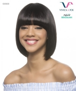 Vivica Fox Remi Human Hair Pure Stretch Cap Full Wig - COCO