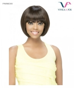 Vivica Fox Remi Human Hair Pure Stretch Cap Full Wig - FRANCES