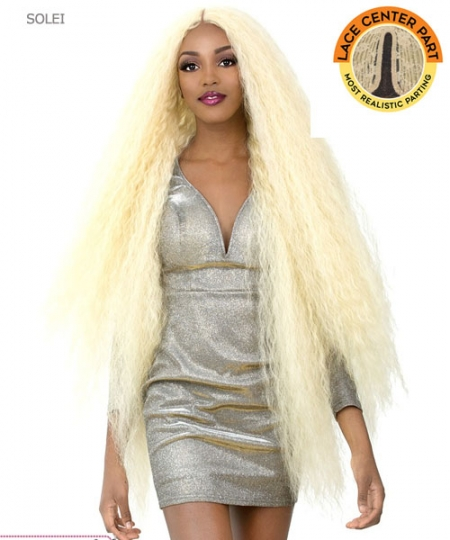 It's a wig Synthetic IRON FRIENDLY Full Wig - SOLEI
