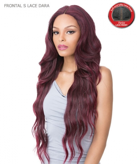 It's a wig Synthetic HAND KNOTTED Lace Front Wig - FRONTAL S LACE DARA