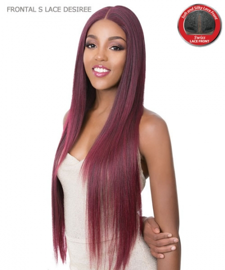 It's a wig Synthetic HAND KNOTTED Lace Front Wig - FRONTAL S LACE DESIREE