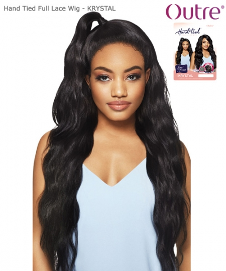 Outre Synthetic Hand Tied Lace Full Wig - KRYSTAL