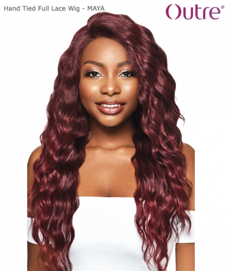 Outre Synthetic Hand Tied Full Lace Wig - MAYA