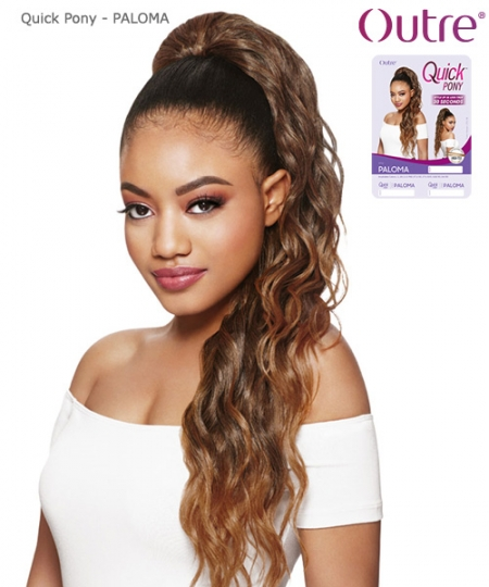Outre Synthetic Hair Ponytail Quick Pony - PALOMA