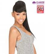 New Born Free Synthetic Ponytail - BANG + PONY STRAIGHT 24