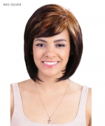 Diana Pure Natural Synthetic Full Wig - SILVER