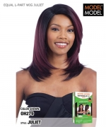 Model Model Synthetic DEEP INVISIBLE  L - PART  WIG - JULIET