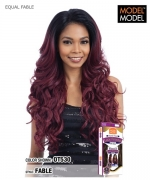 Model Model Synthetic HAND TIED FRONTAL LACE FRONT WIG - FABLE