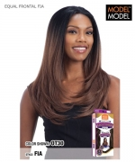 Model Model Synthetic  HAND TIED FRONTAL LACE WIG - FIA