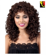 Motown Tress Synthetic Curlable  Full Wig - JELENA