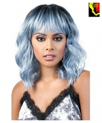 Motown Tress Synthetic Curlable  Full Wig - SIA