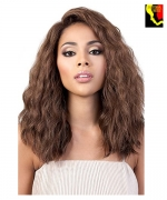 Motown Tress Synthetic Deep Part Swiss Lace Front Wig - LDP.FENTY