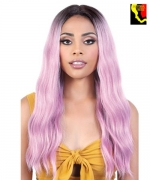 Motown Tress Synthetic Deep Part Swiss Lace Front Wig - LDP. KIM