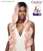 Outre Synthetic Lace Front Swiss I Part - KELIA 32