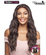 Vanessa Human Hair Blend 4 Way Quad Part Lace Front Wig - TQHB MONICA