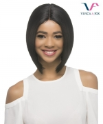 Vivica Fox Synthetic Invisible Center Part Lace Front Wig - BEIGE