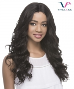 Vivica Fox Remi Human Hair Invisible Center Part Lace Front Wig - MARGO