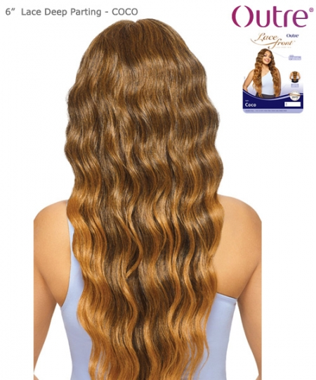 "Outre Synthetic 6""  Lace Deep Parting - COCO"