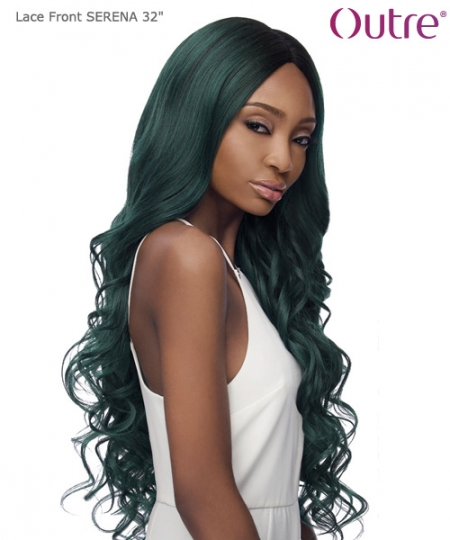 Outre Synthetic Lace Front Swiss I Part - SERENA 32""