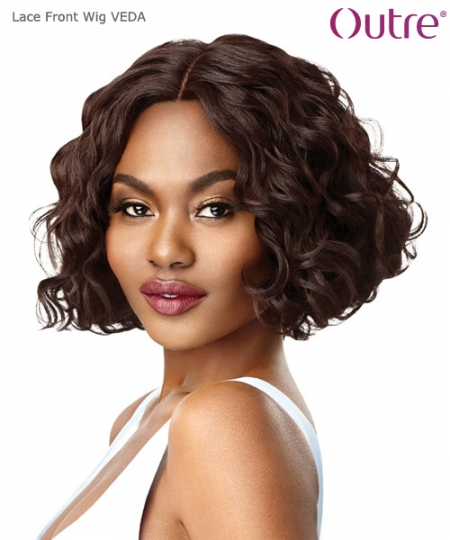 Outre  Synthetic Lace Front Wig - VEDA