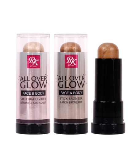 RUBY KISSES ALL OVER GLOW FACE & BODY STICK HIGHLIGHTER & BRONZER
