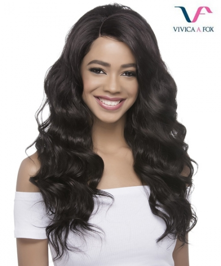 Vivica Fox Synthetic Invisible Side Part Lace Front Wig - ARIEL