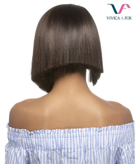 Vivica Fox Synthetic Invisible Side Part Lace Front Wig - MILLY