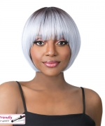 It's a wig Synthetic  Full Wig -BOCUT-3
