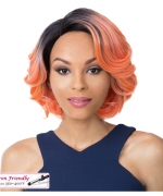 It's a wig Synthetic  Lace Front Wig - SWISS LACE ISSAC