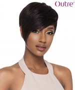 Outre  Full Wig Human Hair Duby Wig - PIXIE EDGE