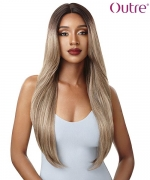 Outre &PLAY Human Hair Blend Swiss Lace Wig - CHARLENE