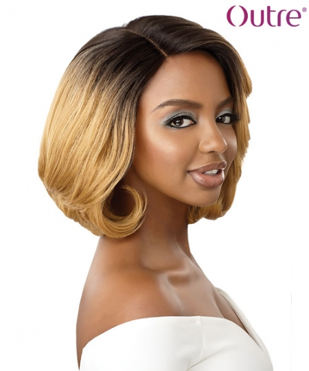 Outre 5 inch Deep Parting Synthetic Lace Front Wig - GWEN