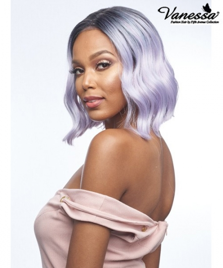 Vanessa Synthetic Middle Part Lace Front Wig - TOPS M EVIE