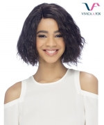 Vivica Fox Remi Human Hair Invisible Side Part Lace Front Wig - ANGELICA