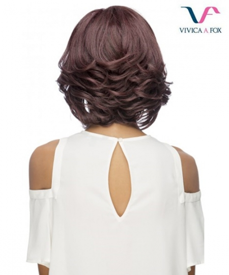 Vivica Fox Synthetic Invisible Side Part Lace Front Wig - CLEMENCE