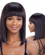 Shake N Go Naked Brazilian Natural Unprocessed Human Hair Full Wig - DION