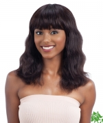 Shake N Go Naked Brazilian Natural Human Hair Full Wig  Premium Wig S - WAVE (S)