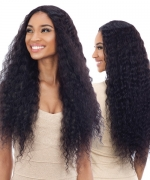 Shake N Go Naked 100 % Remi Human Hair  Lace Front Wig W&W - Natural Deep Wave 30