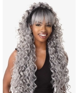 Sensationnel  Human Hair Blend Lace Front Wig FRINGE FRAME 4X4 SWISS SILK BASED CLOUD 9 - CARINA