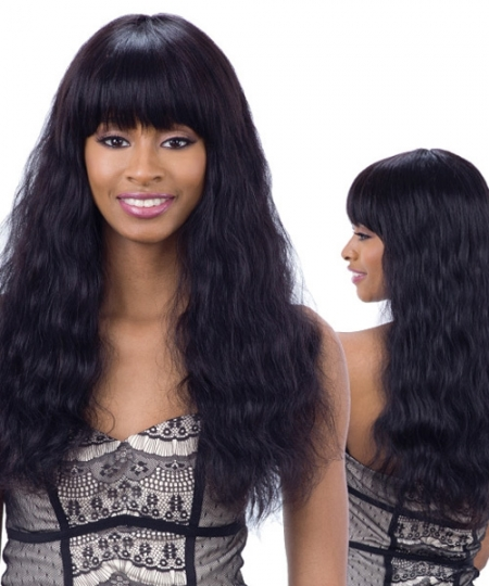 Shake N Go Naked Brazilian Natural Unprocessed Human Hair Full Wig -  ELLIANA