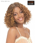 Model Model Braid - SPIRAL DEEP CURL