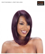 Model Model Wig - DEEP INVISIBLE L-PART WIG JERA