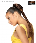 Model Model Ponytail - FISHTAIL BRAID PONYTAIL