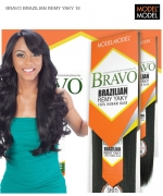 Model Model Weave Extention - BRAVO BRAZILIAN REMY YAKY 18