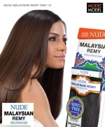 Model Model Weave Extention - NUDE MALAYSIAN REMY YAKY 12
