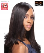 Model Model Weave Extention - 100% H/H YAKY 14 POSE Human Weave Extention