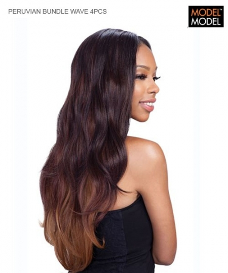 Model Model Weave Extention - PERUVIAN BUNDLE WAVE 4PCS